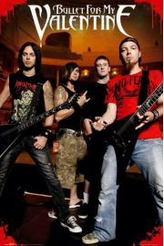 Bullet For My Valentine theatre - plakat