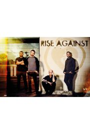 Rise Against Band - plakat