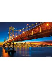 San Francisco Bay Bridge - plakat