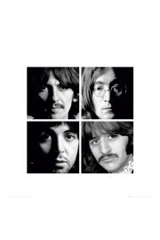 The Beatles white album - plakat premium