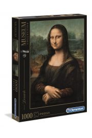 Puzzle 1000 Museum Collection Louvre Mona Lisa