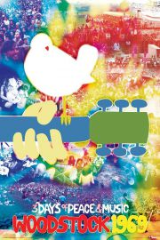 Woodstock 1969 Peace and Music - plakat