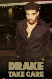 Drake Take Care - plakat