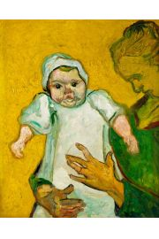 Madame Roulin and Her Baby, Vincent van Gogh - plakat