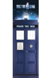 Doctor Who Tardis - plakat