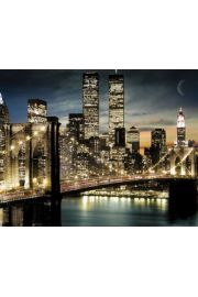Nowy Jork Manhattan Lights - plakat