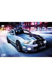 Ford Mustang Shelby GT500 2014 - plakat