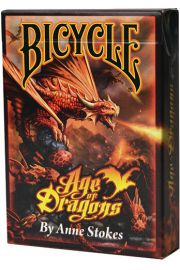 Karty Anne Stokes Age of Dragons BICYCLE