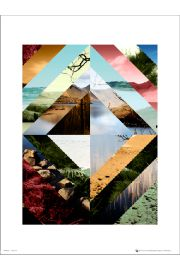 Abstract Wilderness - plakat premium