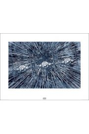 Gwiezdne Wojny Star Wars The Force Awakens TIE Fighters - plakat premium