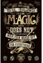 Harry Potter Magia - plakat