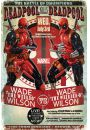 Marvel Deadpool Wade vs Wade - plakat 61x91,5 cm - Akcji