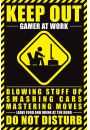 Gamer At Work - plakat