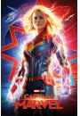 Kapitan Marvel Higher, Further, Faster - plakat