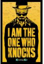 Breaking Bad To ja Pukam do Twoich Drzwi - plakat 61x91,5 cm - Seriale